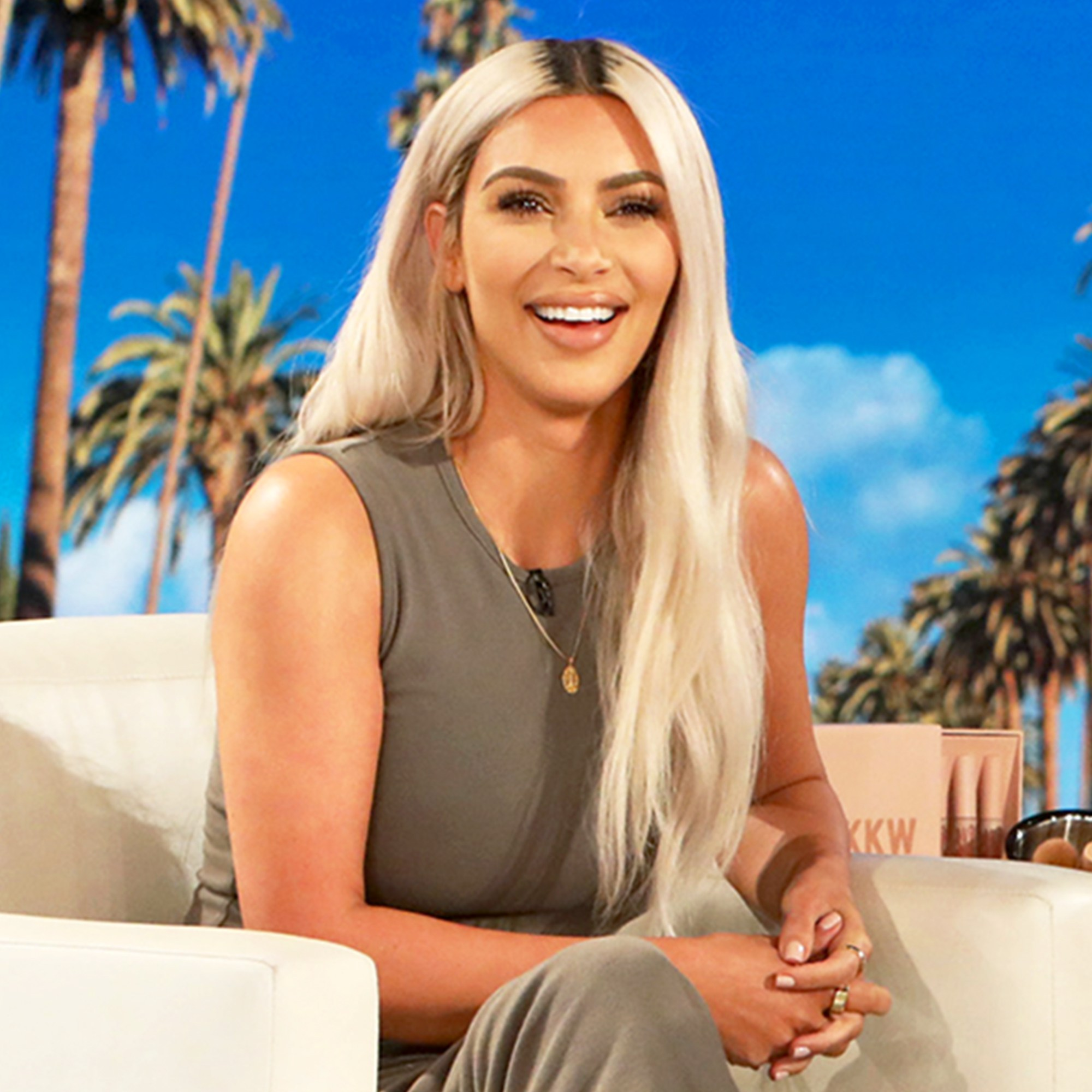 Kim Kardashian on 'The Ellen DeGeneres Show'